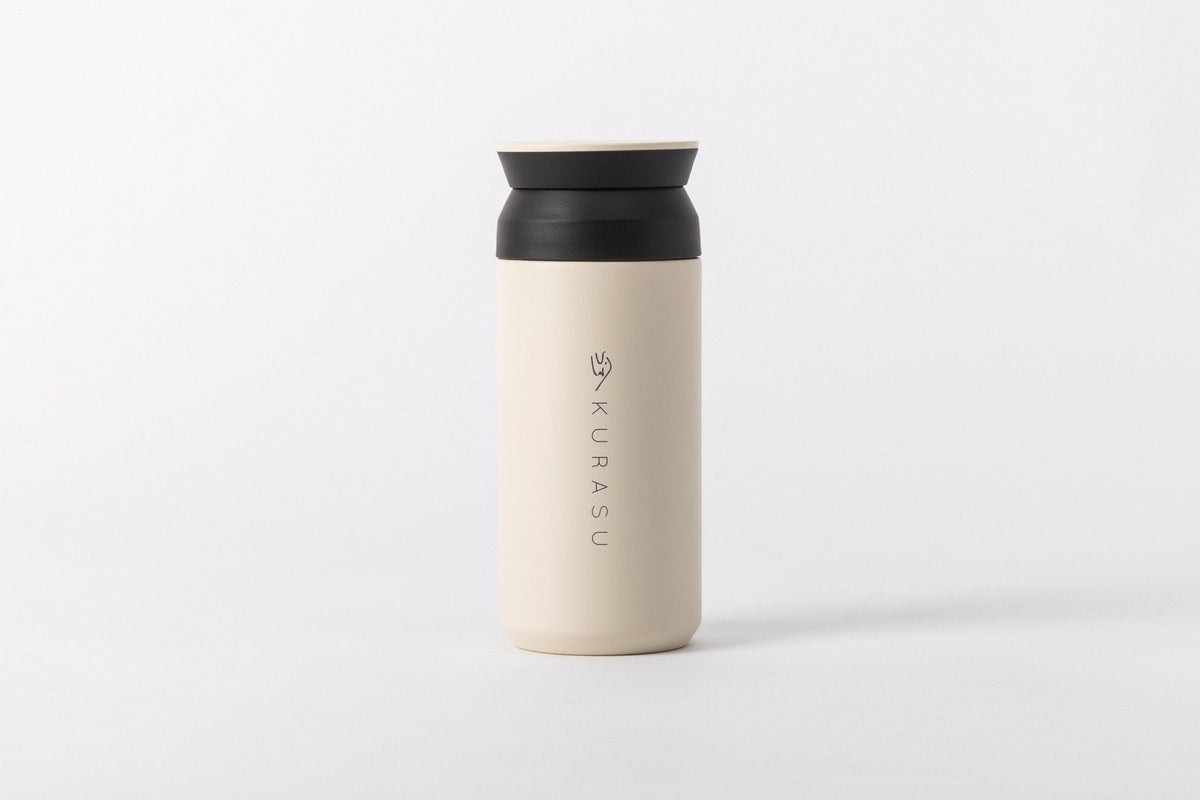 Kurasu Stainless Travel Tumbler Merchandise Kurasu White