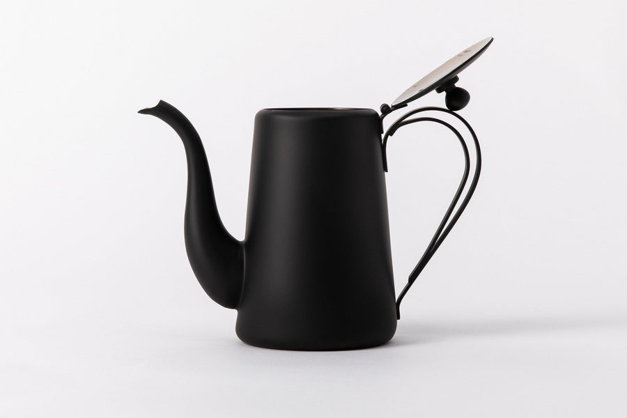 Yukiwa Drip Pot K-5 Matt Black