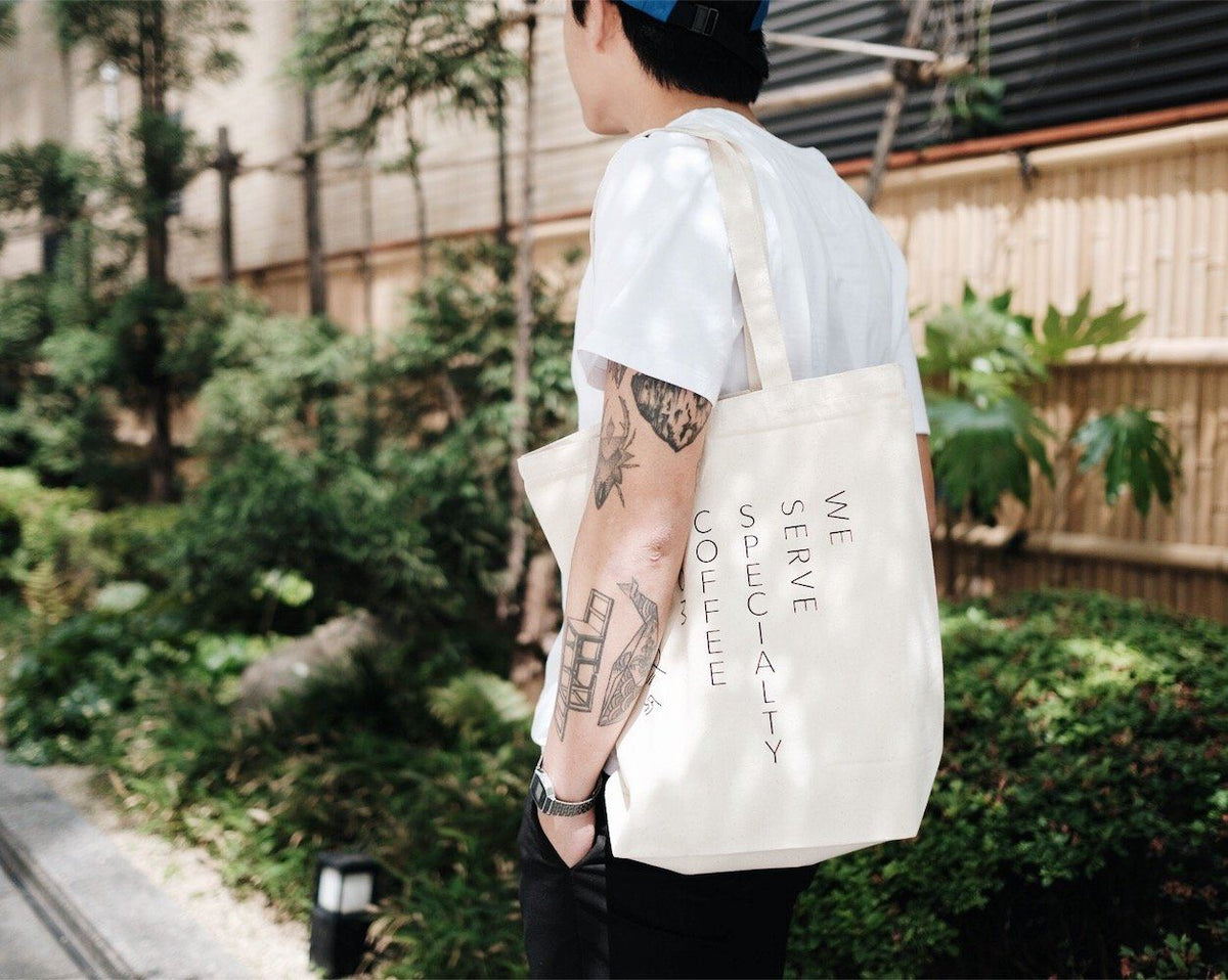 Kurasu Tote: We Serve Specialty Coffee Merchandise Kurasu