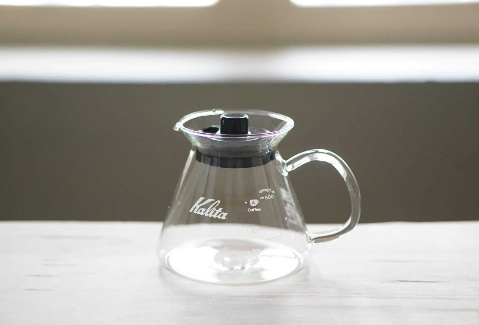 Kalita Wave Glass Server G 500 Server Kalita Kalita Server G 500 ml