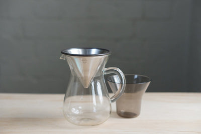 Kinto Stainless Filter Coffee Carafe Set 300ml Filter Kinto Kinto Stainless Filter Set 300ml