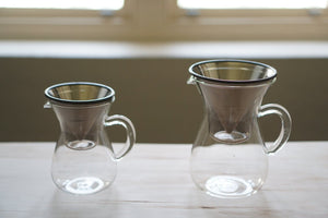 Kinto Stainless Filter Coffee Carafe Set 300ml - Kurasu  - 3