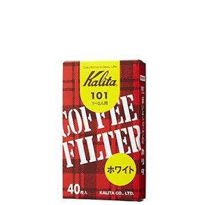 Kalita Fan Shaped White Paper Filter  40 sheets