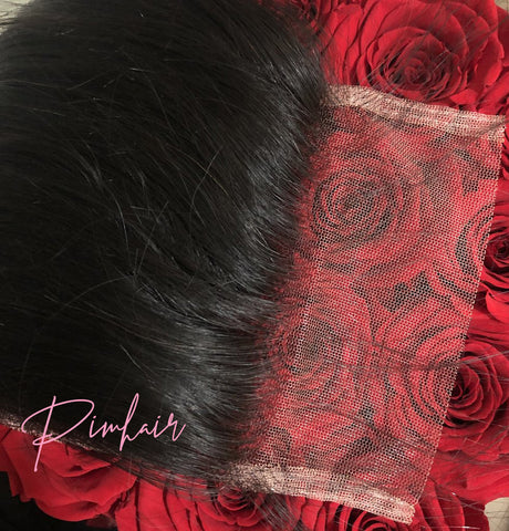 4x4 Transparent Lace Closures