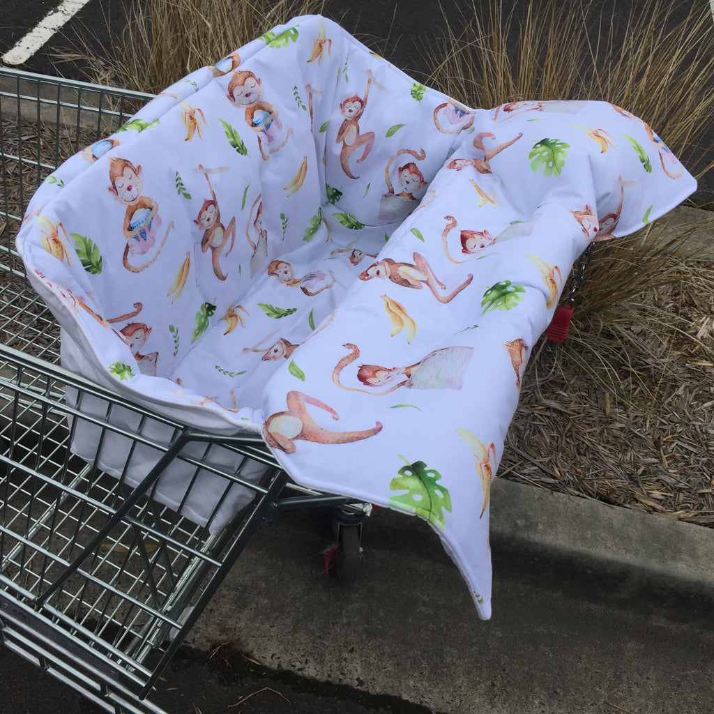 Mucky Duck monkey shopping trolley liner