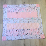 Mucky Duck pink purple rabbits sensory play mat