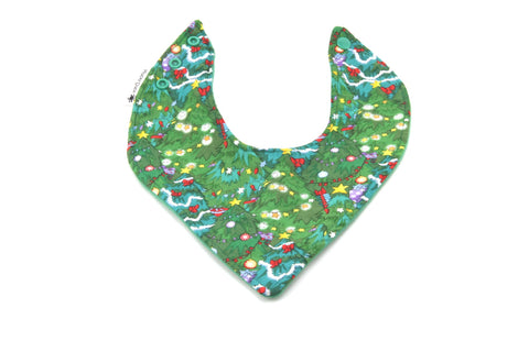 Christmas Trees Dribble Bib - Hybrid Style