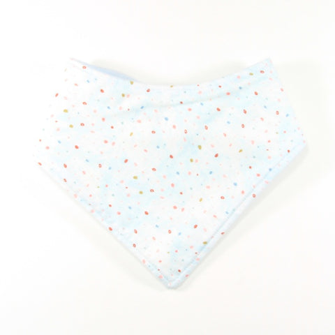 Mint Green Dot Dribble Bib - Bandana Style