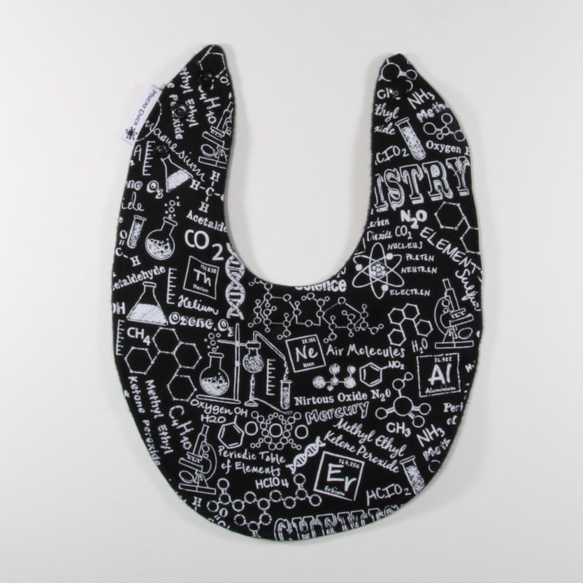 Monochrome Chemistry Dribble Bib - Regular Style