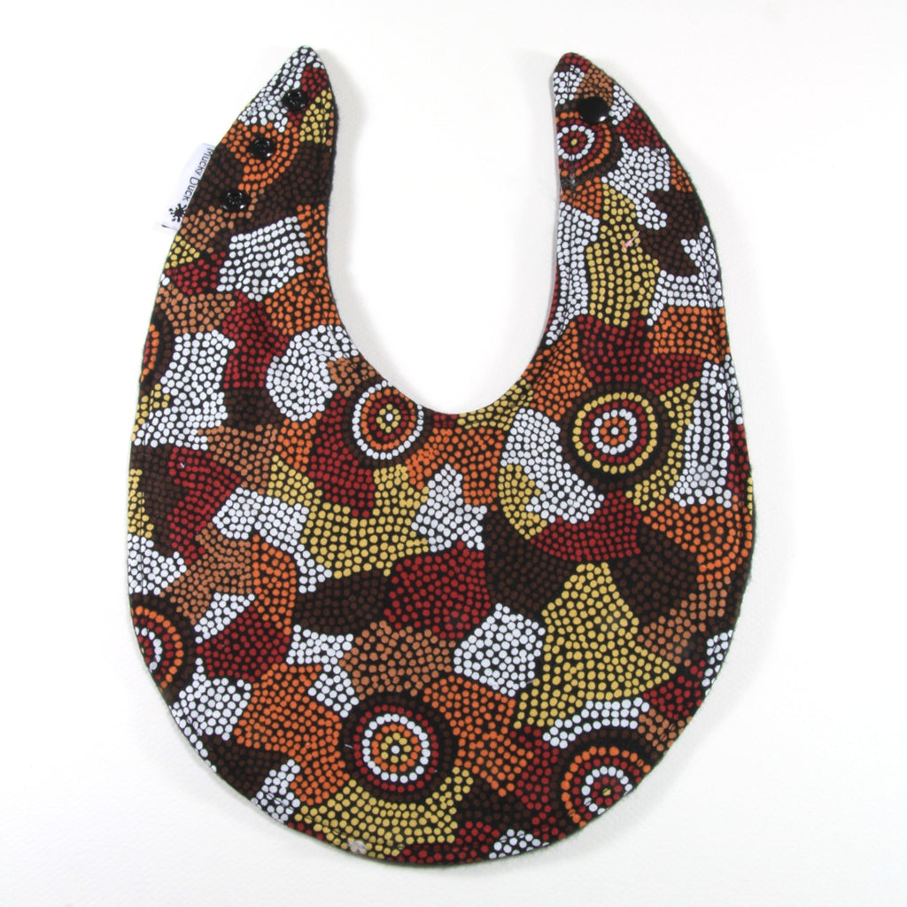 Aboriginal Circles Bib - Regular Style