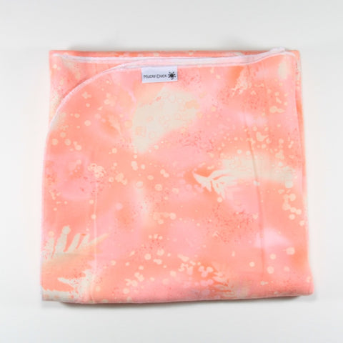 Flannelette Wrap - Blush Patterned