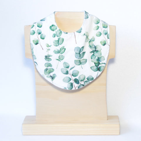 Mucky Duck Crafts eucalyptus leaf regular dribble bib