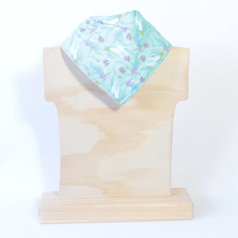 Mucky Duck Mint green eucalyptus dribble bib