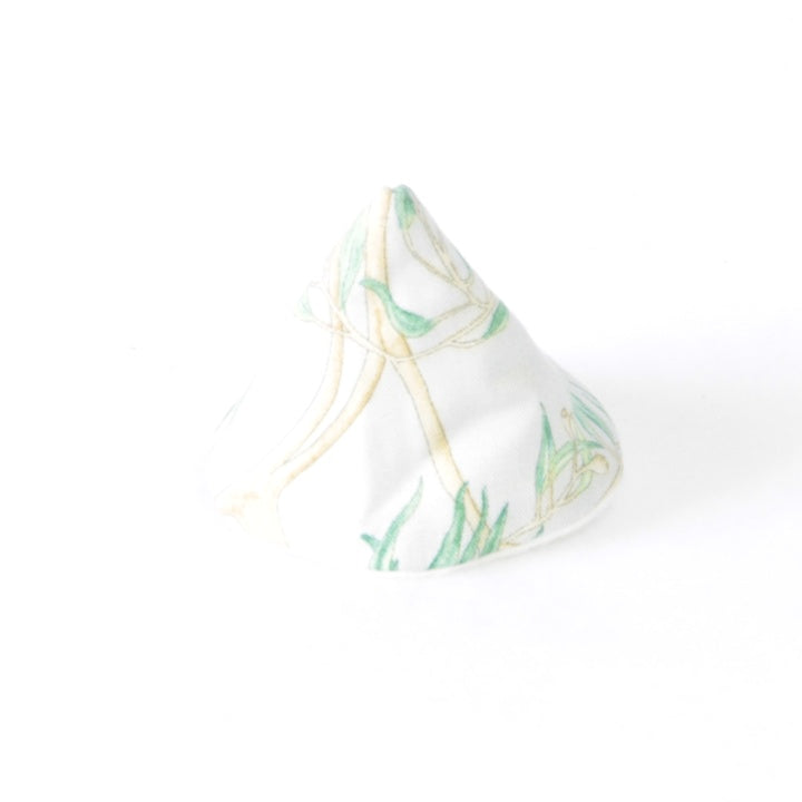 Mucky Duck Crafts wee wee tee pee in grey with eucalyptus leaves and koalas print