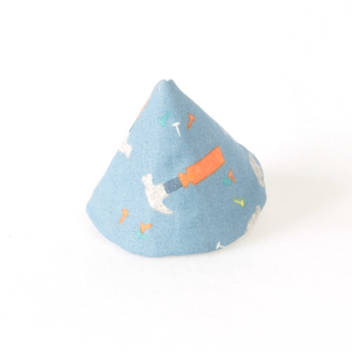 Mucky Duck wee wee tee pee blue with orange hammers