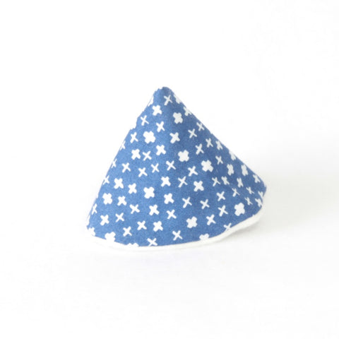 Mucky duck wee wee tee pee blue with white plus signs or crosses