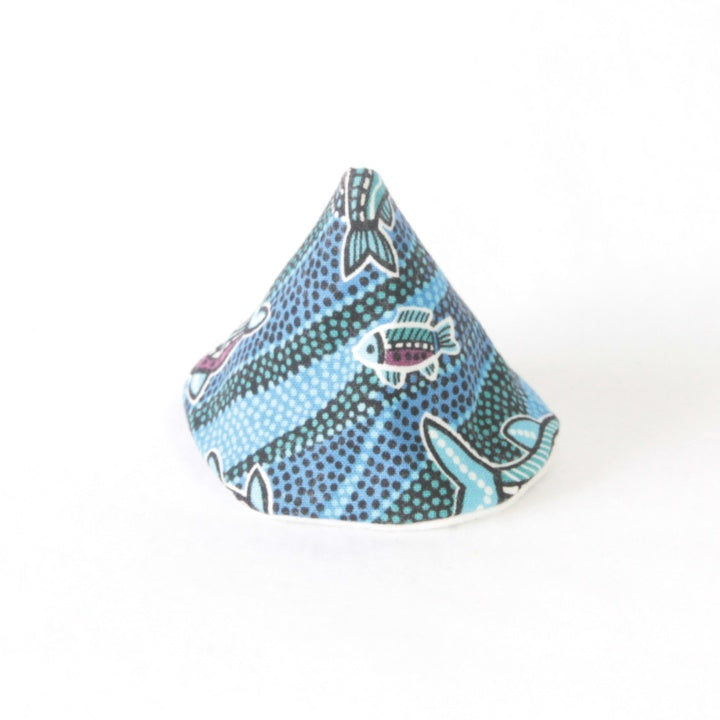 Mucky duck wee wee tee pee blue aboriginal artwork