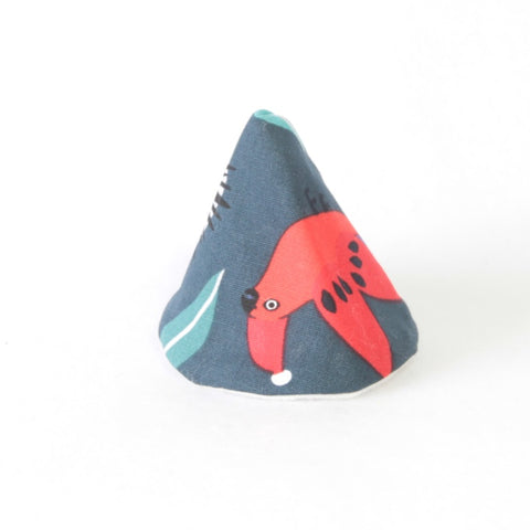 Mucky duck wee wee tee pee teal with australian animals wearing red and white christmas hats