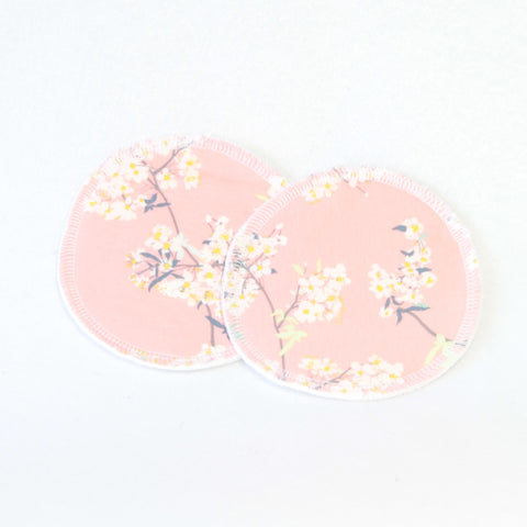 Mucky Duck blush flowers floral nursing pads