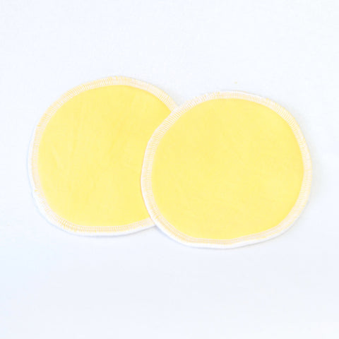 Mucky Duck eco friendly reusable nursing breast pads sunshine yellow