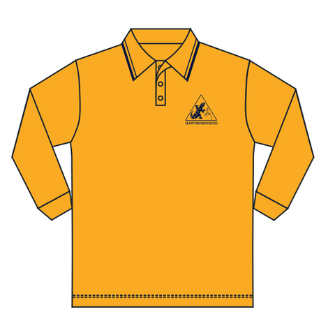 Hawthorndene PS | Gold Polo - LS - *Discontinued*