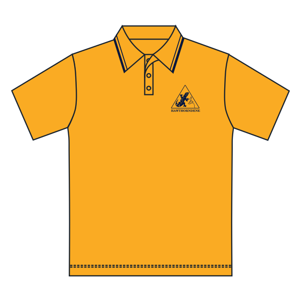 Hawthorndene PS | Gold Polo - SS