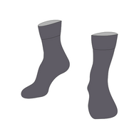 Christ the King | Socks (Twin Pack) - Grey