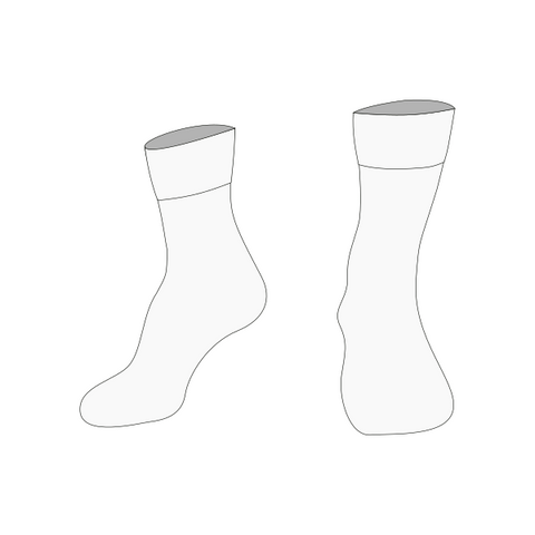 Christ the King | Socks (Twin Pack) - White