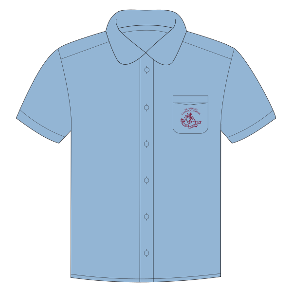 St Brigid's CS | Blouse - Short Sleeve