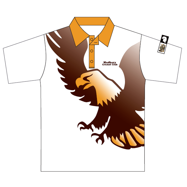 Modbury Hawks (P&S) | Cricket - Junior Playing Polo - Short Sleeve