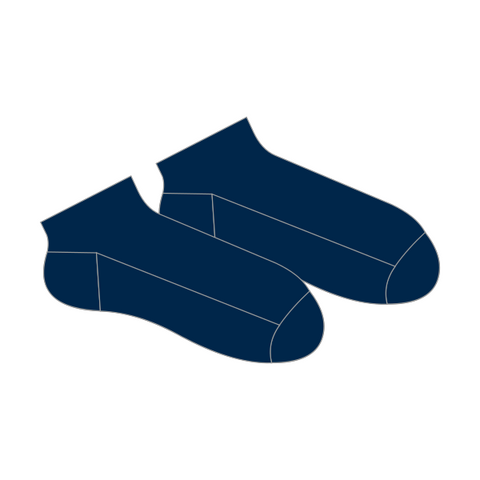 Lockleys North PS | Ankle Socks 2pk - Navy