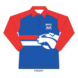 Murrayville F&NC | Ladies Warm-Up  Polo - LS