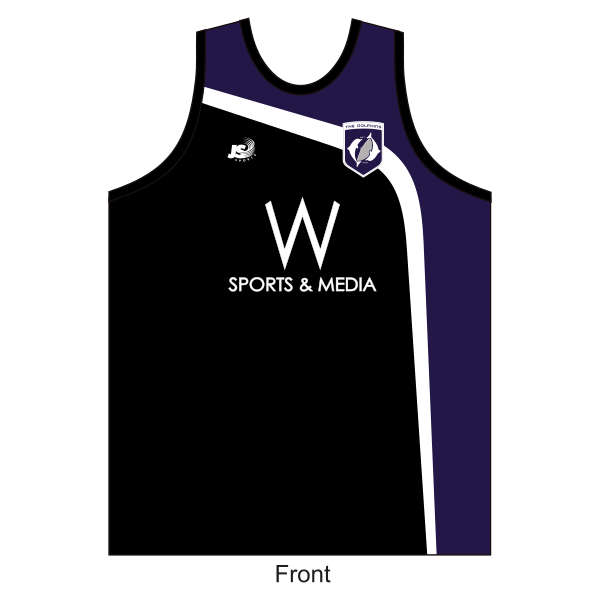CBC Old Collegians FC | Training Singlet - black