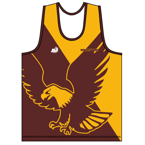 Modbury Hawks (P&S) | Training Singlet - Yellow