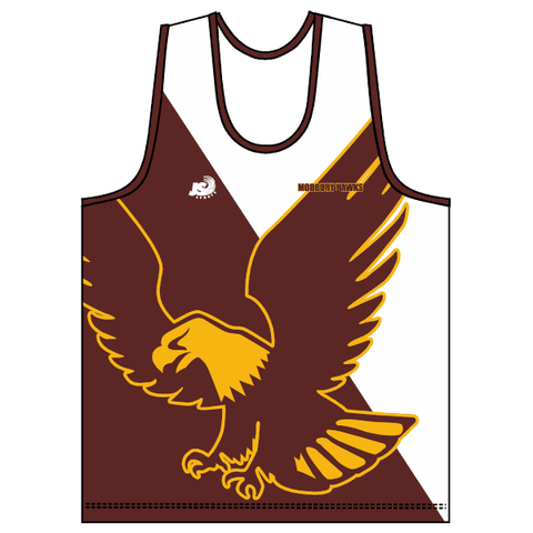 Modbury Hawks (P&S) | Training Singlet - White