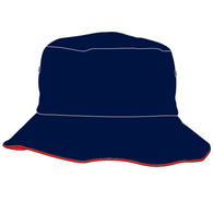 Dernancourt R-7 | Bucket Hat - Navy/Red