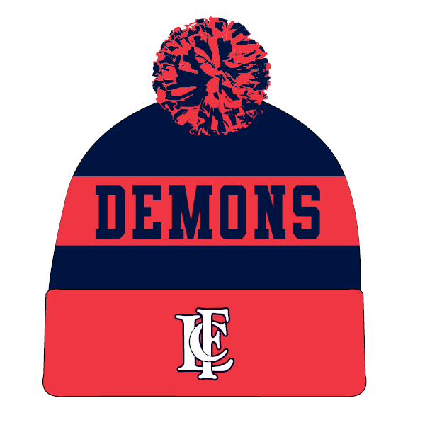 Lockleys Demons FC (P&S) | Pom-Pom Beanie