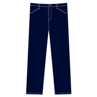 St Mary's Memorial | Girls Straight Leg Pants