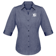 North Broken Hill FC | Ladies Corporate Shirt - Blue