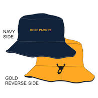 Rose Park PS | Reversible Bucket Hat - Navy/Gold