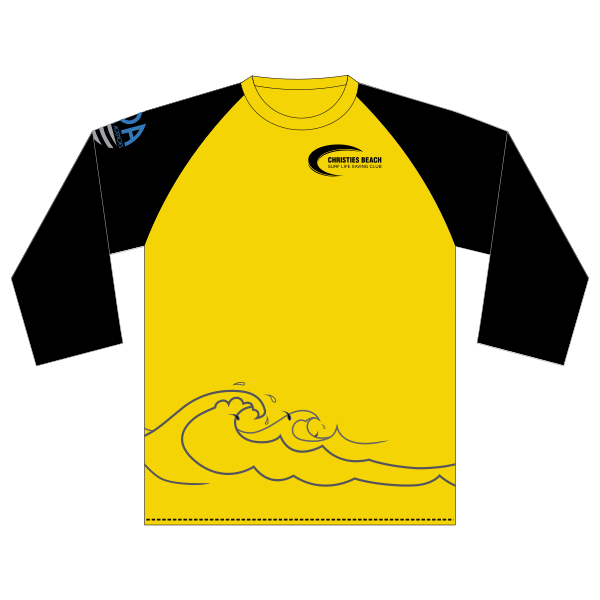 Christies Beach SLSC | Rashie - Long Sleeve