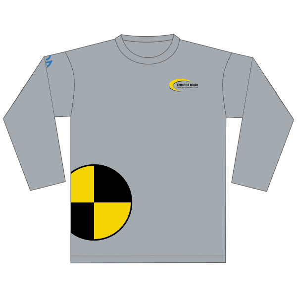Christies Beach SLSC | Cotton Tee - Long Sleeve
