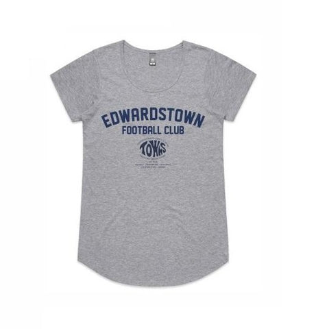 Edwardstown FC | Cotton Tee - Ladies