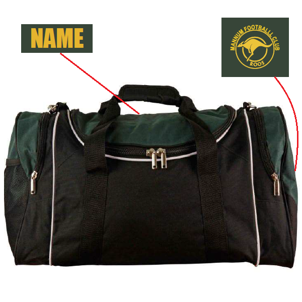 Mannum Roos FC | Sports Bag