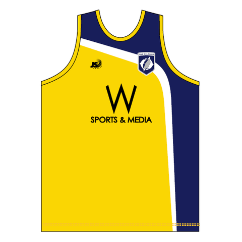 CBC Old Collegians FC | Training Singlet - yellow