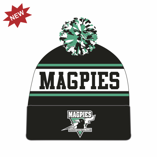 Belconnen Magpies FC | Pom-Pom Beanie