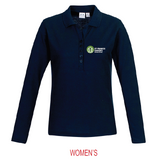 St Francis Xaviers STAFF | Crew LS Polo - Navy
