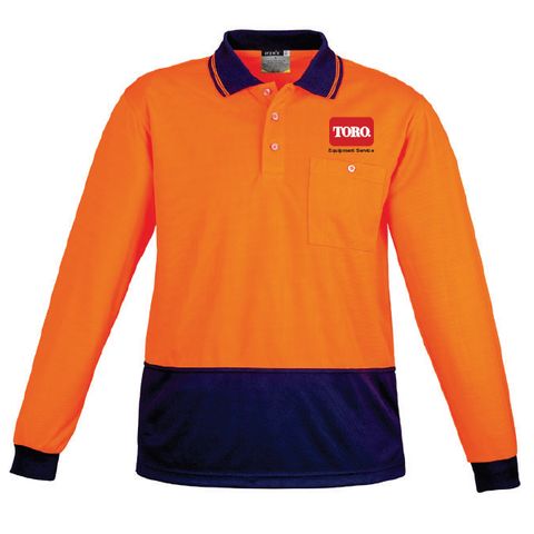 TORO Australia | Hi-Vis Polo - Long Sleeve