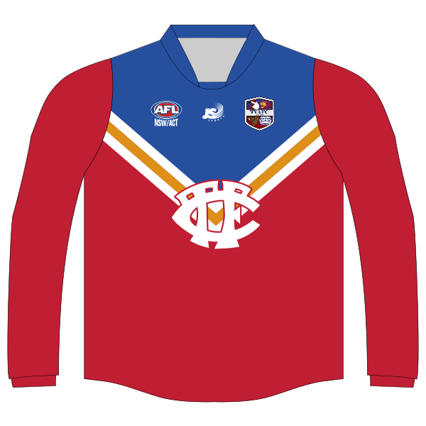 Tuggeranong Valley AFC | Junior Inaugural Guernsey - Long Sleeve