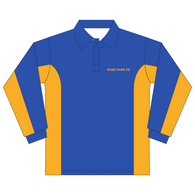 Rose Park PS | Royal/Gold Polo - Long Sleeve